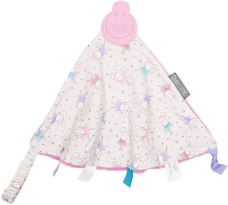 Kalencom Cheeky Chompers Ballerina 2-in-1 Teether and Sensory Blanket