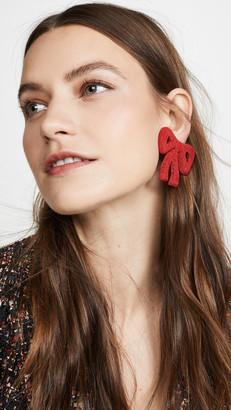 Rebecca De Ravenel Tie Me Up Earrings