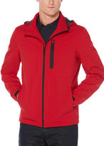 Perry Ellis Zip-Front Hoody Jacket