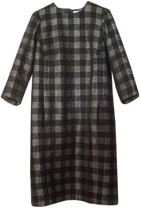 Comme des Garcons Grey Wool Dresses