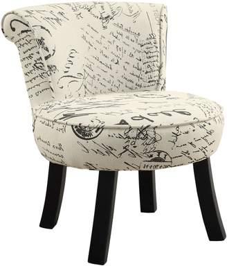 Monarch Vintage French Juvenile Accent Chair
