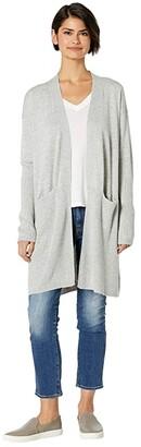 Splendid Retreat Cashmere Blend Cardigan (Black) Women's Sweater