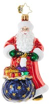 Christopher Radko Dressed To Deliver Santa Claus Ornament