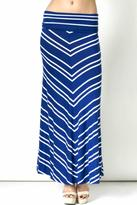 Inance Long Striped Skirt