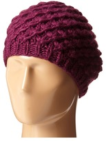 San Diego Hat Company KNH3366 Chunky Yarn Woven Beret