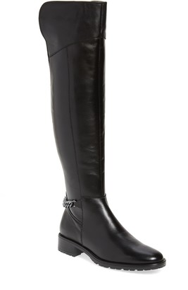 Kurt Geiger Vito Over-The-Knee Chain Linked Boot