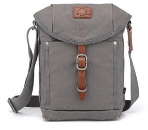 TSD BRAND Forest Canvas Flap Crossbody Bag