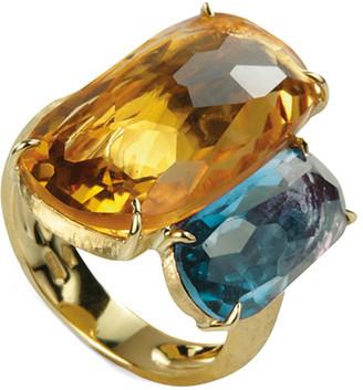 Marco Bicego Murano 18K Gemstone Cocktail Ring