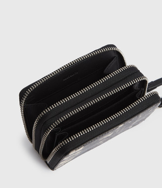 AllSaints Nantes Leather Cardholder