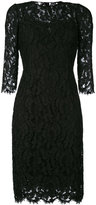 Dolce & Gabbana fitted dress - women - Silk/Cotton/Nylon/Viscose - 40