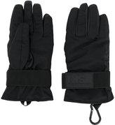DSQUARED2 Ski technical gloves - men - Plastic/Polyamide/Polyester - S