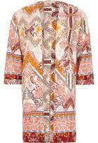 River Island Womens Cream paisley print split back kimono