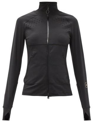 adidas by Stella McCartney Truepurpose Recycled-fibre Blend Mid-layer Jacket - Black
