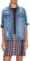 Rachel Roy Oversized Denim Jacket