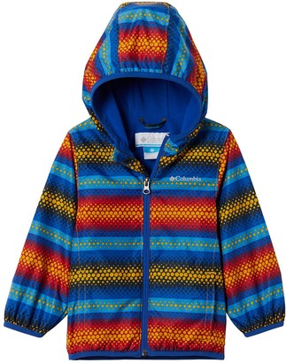 Columbia Baby Boy Mini Pixel Grabber II Wind Hooded Lightweight Jacket