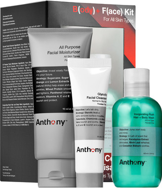 Anthony Logistics For Men Body + Face Kit