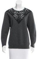 Stella McCartney Lace-Accented Sweatshirt