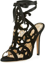 Marchesa Jessica Cutout Caged Sandal