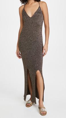 Ganni Glitter Knit Dress