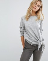 Whistles Tie Front Sweater