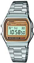 Casio A158wea-9ef Retro Silver Watch