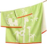 Kassatex Kids' Kassa Jungle Fingertip Towel
