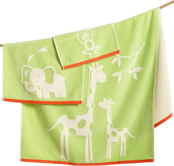 Kassatex Kids' Kassa Jungle Hand Towel