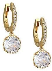Kate Spade Women's That Sparkle Pave Huggie Hoop Earrings