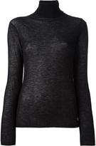Balenciaga ribbed knit sweater