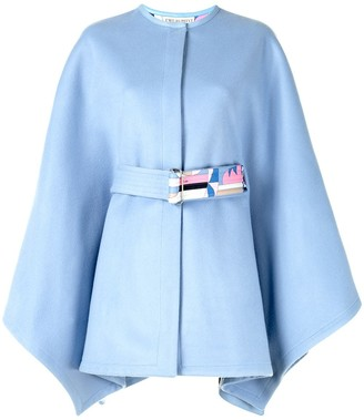 Emilio Pucci Sirens Song belted cape
