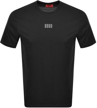 HUGO BOSS Dumed203 Crew Neck Short Sleeve T Shirt Black
