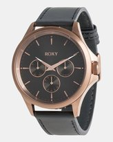 Roxy Womens Messenger 40mm Chronograph Leather Watch