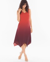 Soma Intimates Scarf-Hem Midi Dress Solitude Ombre