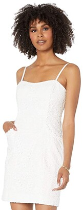 Lilly Pulitzer Shelli Dress (Resort White Large Petal Eyelet) Women's Dress