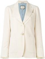 Gucci two button blazer - women - Silk/Cotton/Polyester/Wool - 42