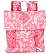 The Herschel Supply Co. Brand 'Survey' hawaiian print canvas 5.5L kids backpack