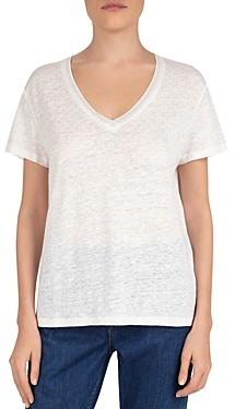 Gerard Darel Judit Dotted Slubbed Tee