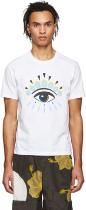 Kenzo White Eye Logo T-Shirt