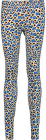 Just Cavalli Printed stretch-jersey leggings