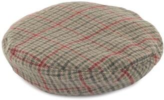 Undercover Tartan Check Wool Beret