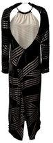 Damir Doma Cut Out Detailed Silk-Blend Dress