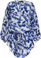 Vix Amy Blue Printed Kaftan