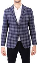 Tagliatore Virgin Wool And Linen Jacket