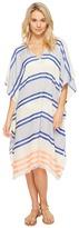 Echo Mambo Stripe Caftan Cover-Up Women's Swimwear