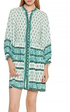 Sandro Naima Printed Dress