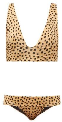 Haight Hilary Leopard-print Bikini - Leopard
