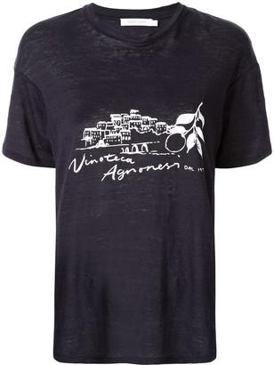 Nobody Denim Vinoteca graphic print T-shirt