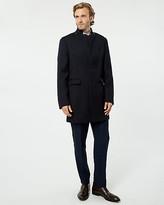 Le Château Wool Twill Crombie Coat