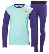 Helly Hansen Girl's 'Hh Active' Base Layer Top & Pants