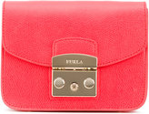 Furla clasp clutch - women - Leather - One Size